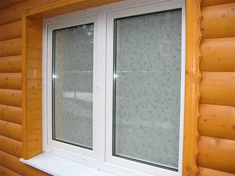Установка пластиковых окон в деревянном доме (срубе)