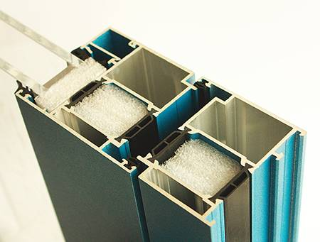 Алюминиевый профиль для окон и светопрозрачных конструкций