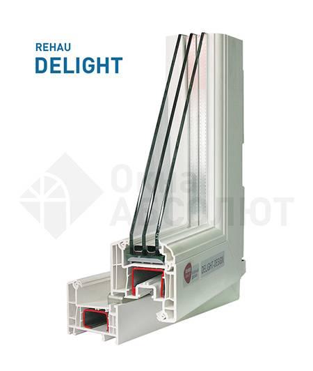 Профиль окон Rehau DELIGHT-design