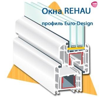 Профиль окон Rehau Euro – Design